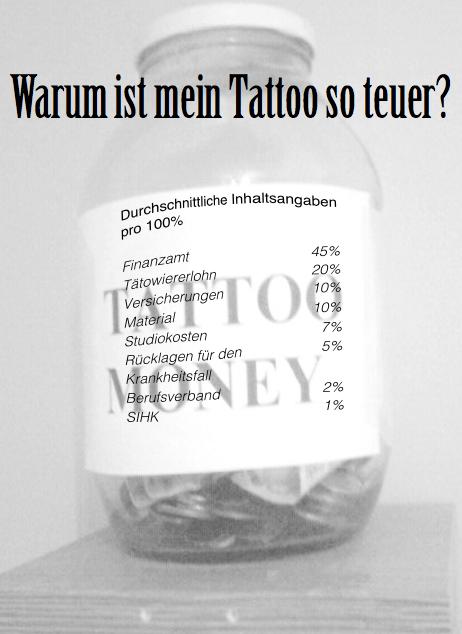 Warum ist mein Tattoo so teuer? Was kostet ein Tattoo?
