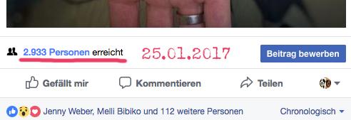 Facebook damals