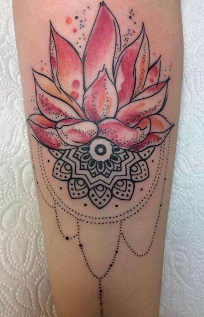 Tattoo zu tief gestochen