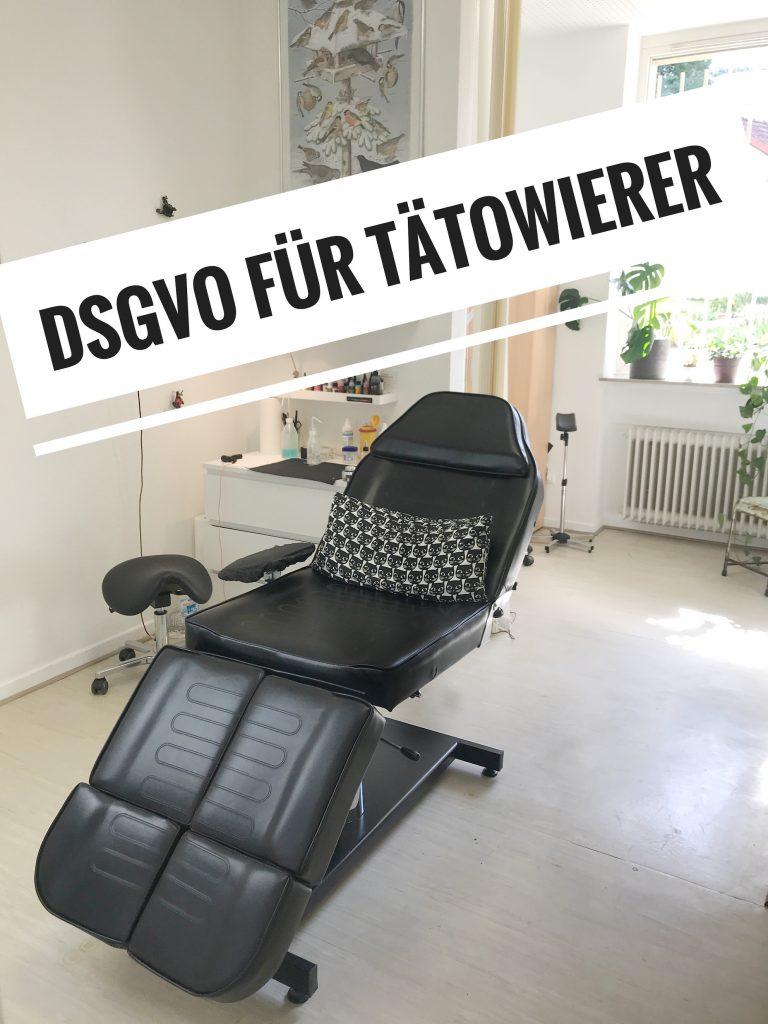 Was ihr als Tätowierer zur DSGVO wissen müsst