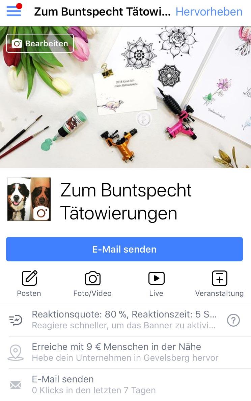 Facebookseite
