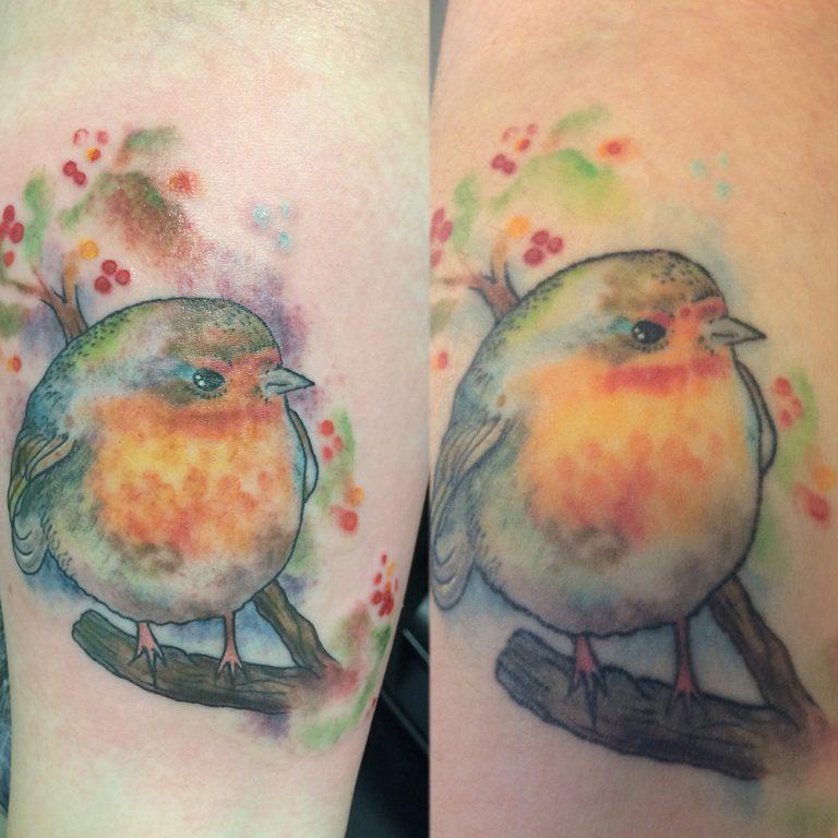 Muss ich mein Tattoo nachstechen lassen? - Zum Buntspecht