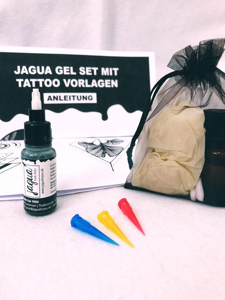 Temporäre Tattoos mit Jagua