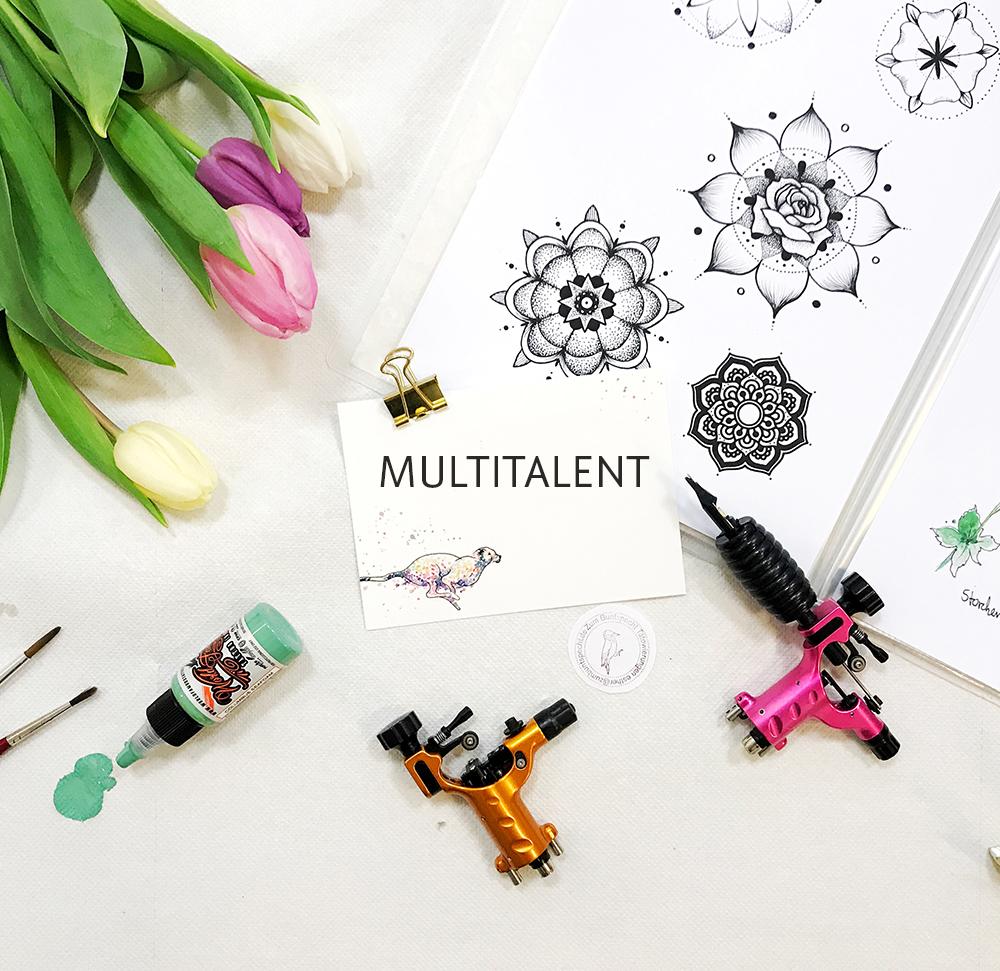 Multitalent Tätowierer – was wir können müssen