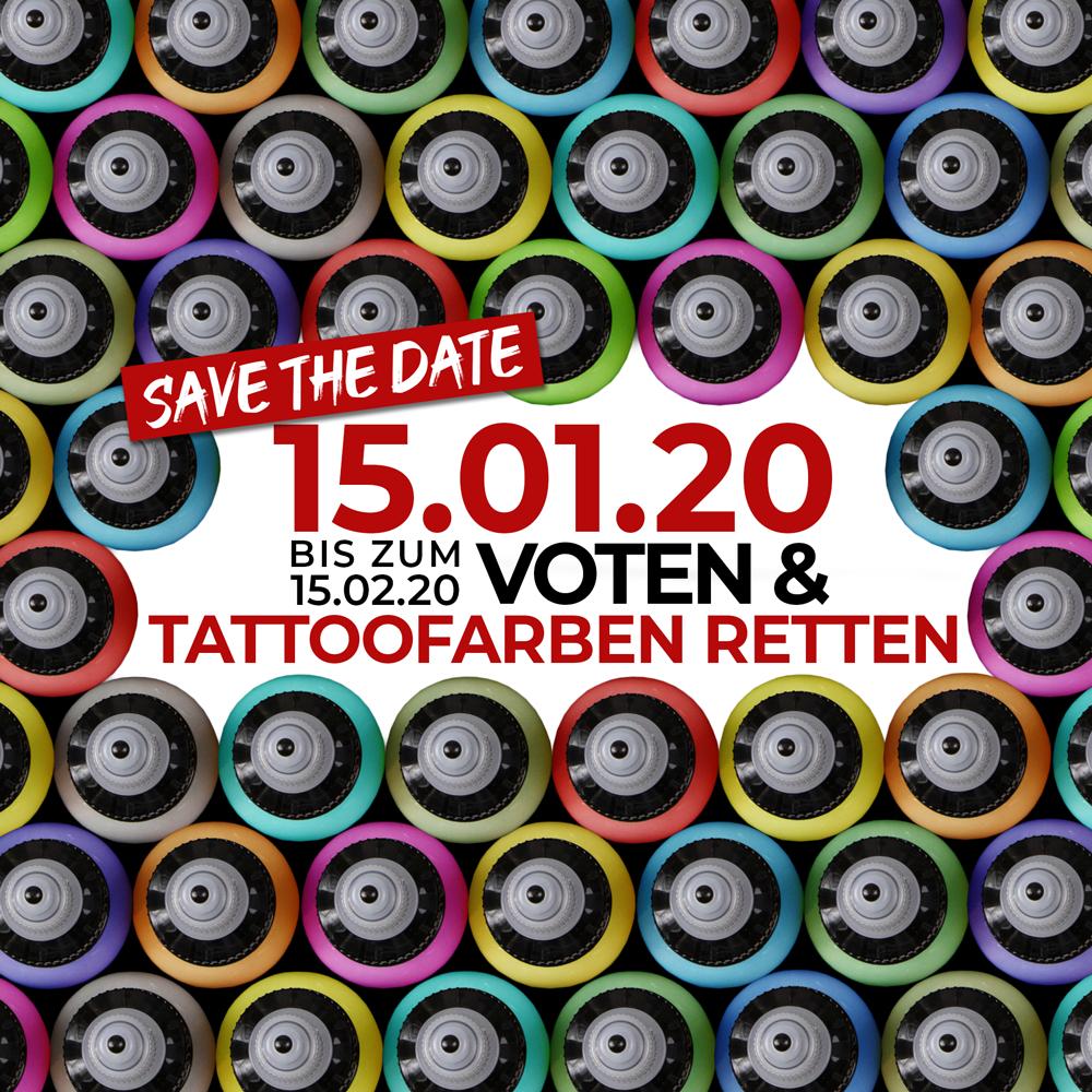 Tattoofarben retten